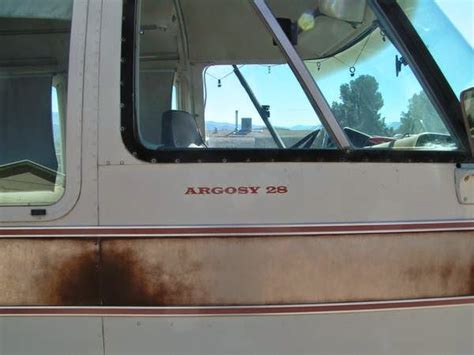rvs  airstream argosy motorhome  sale  sale