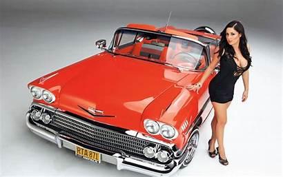 Lowrider Magazine Oldtimer Models Sara Diebold Pinup