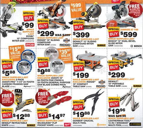 black friday table saw home depot black friday 2014 tool deals