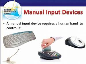 Input Devices 2 Lessons