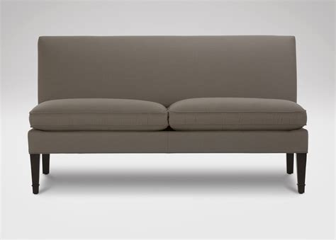 Armless Settees by Baldwin Armless Settee Sofas Loveseats
