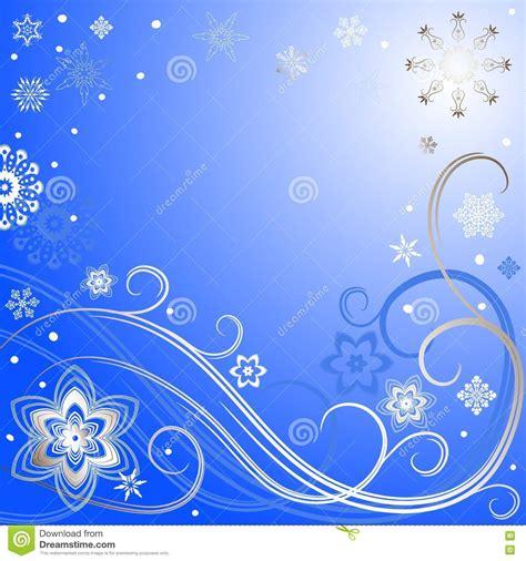 marco azul plateado de la navidad ilustracion del vector