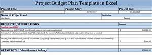 How To Make Project Budget Plan Template In Excel Excelonist