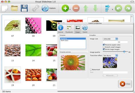 Visual SlideShow Mac - Free SlideShow Maker for Mac OS