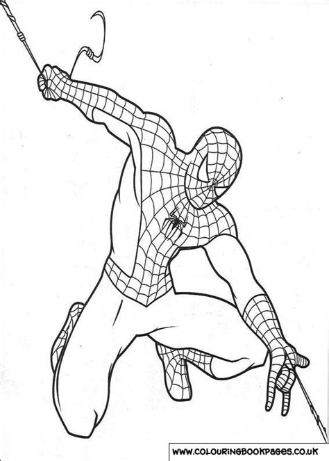 spiderman colouring pages  printable games