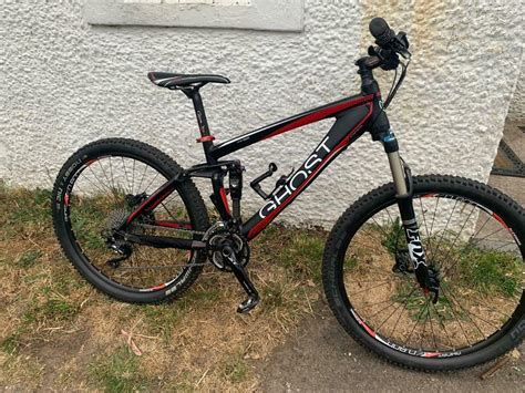Ghost amr 5900, full suspension downhill mountain bike ...