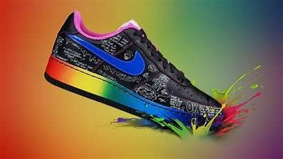 Nike Multicolor Wallpapers Hintergrund