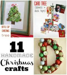 11 handmade christmas crafts c r a f t