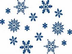 Blue Snowflakes Clip Art at Clker com - vector clip art online      Falling Snowflake Vector