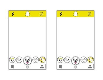 snapchat template snapchat template editable with powerpoint by cheeky cherubs tpt