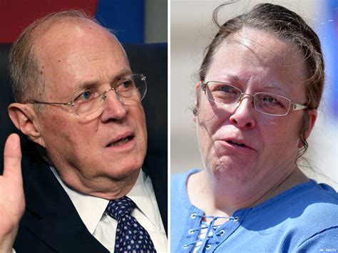 Watch Justice Anthony Kennedy Implies That Kim Davis