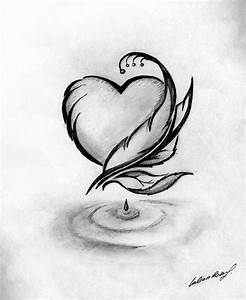 Pics For > Simple Black And White Drawing Ideas | Art ...