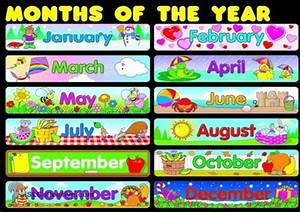 Free Printable Months Of Year