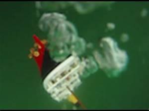 Model Titanic Sinks (w/ underwater footage) - YouTube