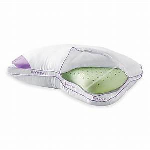 brookstoner biosenser memory foam 2 in 1 shoulder pillow With better than my pillow