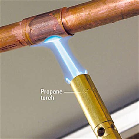 Repair Pipe repairing copper pipe how to install repair pipes