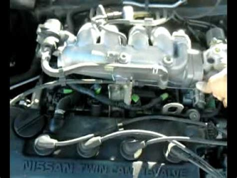 how do cars engines work 1994 nissan sentra on board diagnostic system nissan sentra 1999 1998 nissan sentra 1 6 engine rattle youtube