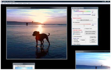 light photo editor lightbox free image editor