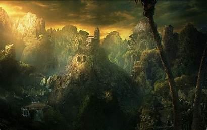 Fantasy Landscape Wallpapers Natural Dark Cool Landscapes