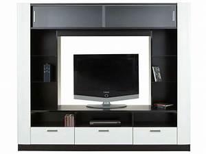 Ensemble Meuble Tv Conforama : meuble tv contraste conforama pickture ~ Dailycaller-alerts.com Idées de Décoration