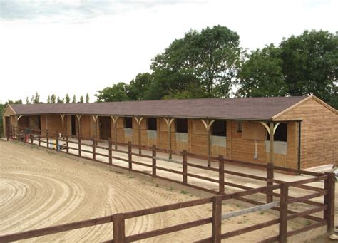 stable blocks premier range stable block clay tiles equestrian buildings horse stables