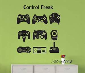 gamer gifts video game decal vinyl wall decal gamer With awesome video game wall decals