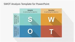 Flat Swot Powerpoint Template
