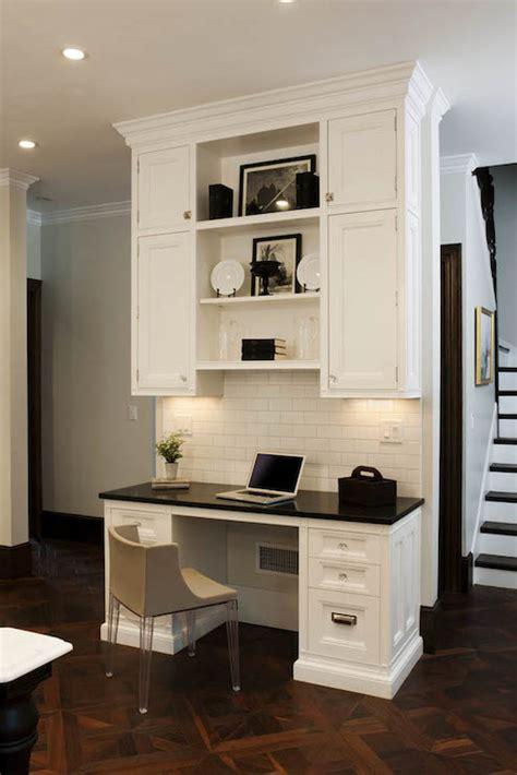 kitchen cabinet desk ideas kitchen desk ideas transitional kitchen crown point