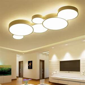 Moderne Deckenleuchten Led : 2017 led ceiling lights for home dimming living room bedroom light fixtures modern ceiling lamp ~ Frokenaadalensverden.com Haus und Dekorationen