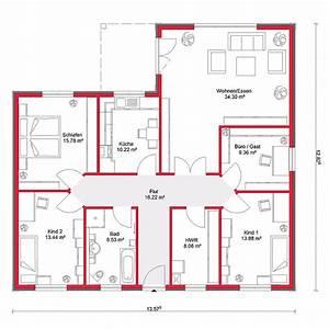 Bungalow Grundriss 130 Qm : grundrisse bungalow 130 qm ~ Orissabook.com Haus und Dekorationen