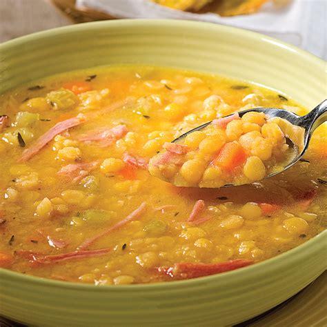 soupe aux pois et jambon recettes cuisine et nutrition