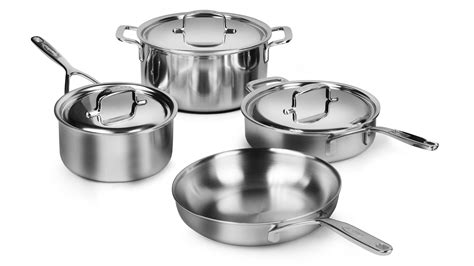 demeyere cookware set  ply stainless steel   pots  pans cutlery