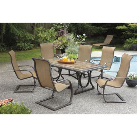 costco dining table in store patio dining sets costco style pixelmari com