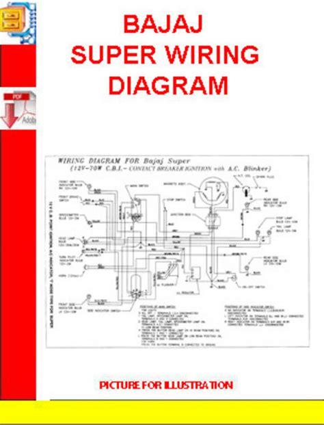 Bajaj Super Wiring Diagram Download Manuals Technical
