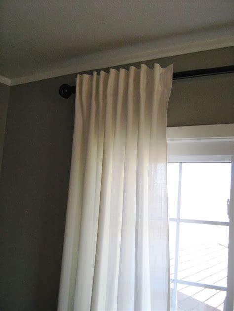 ikea ritva pair  curtains kindred style master bedroom