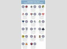 Calendario de Cruz Azul para el Clausura 2018 Apuntes de