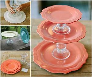DIY Cake Stand Tutorial Pictures, Photos, and Images for