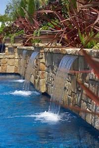 Wasserfall Garten Selber Bauen : brunnen wasserfall garten pool natursteinmauer in 2019 ~ A.2002-acura-tl-radio.info Haus und Dekorationen