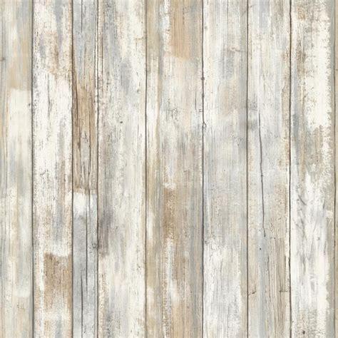 RMK9050WP   Peel & Stick Distressed Wood Wallpaper