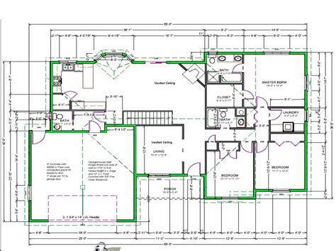 draw house plans  draw simple floor plans  plans