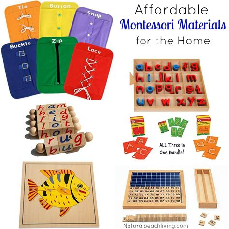 list of montessori materials for preschool great montessori materials that are easy on your budget 412