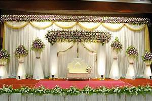 indian wedding ground decoration - The Authentic Indian