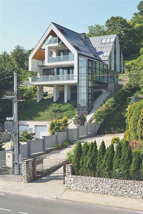 Steep Hillside Home Plans House And Cabin For Terrain