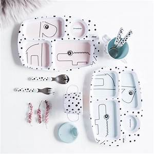 DONE BY DEER Happy Dots Starter Dinner Set Powder