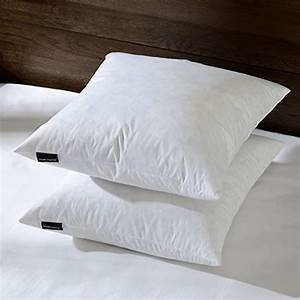 basic home 24x24 euro feather down pillow insert 100 With best euro pillow inserts