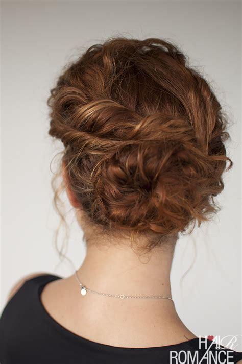 easy style for hair curly hair tutorial easy twisted bun hairstyle hair 5720