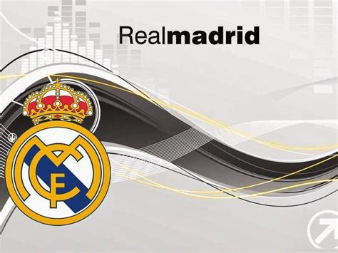 real madrid logo wallpapers  wallpaper cave