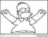 Coloring Simpson Homer Simpsons Lisa Printable Bart Drawing Colouring Shy Guy Figment Colorings Getcolorings Getdrawings Printables Pag sketch template