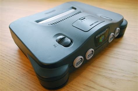 The Nintendo 64 Console As Art