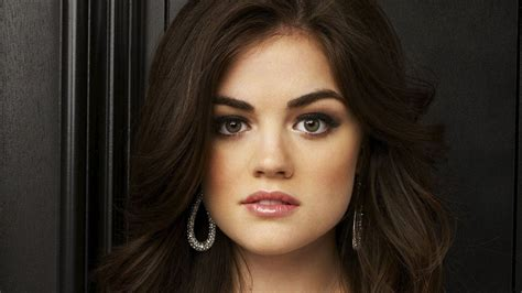 Actress Lucy Hale A simple smile can make you beautiful…=D ...